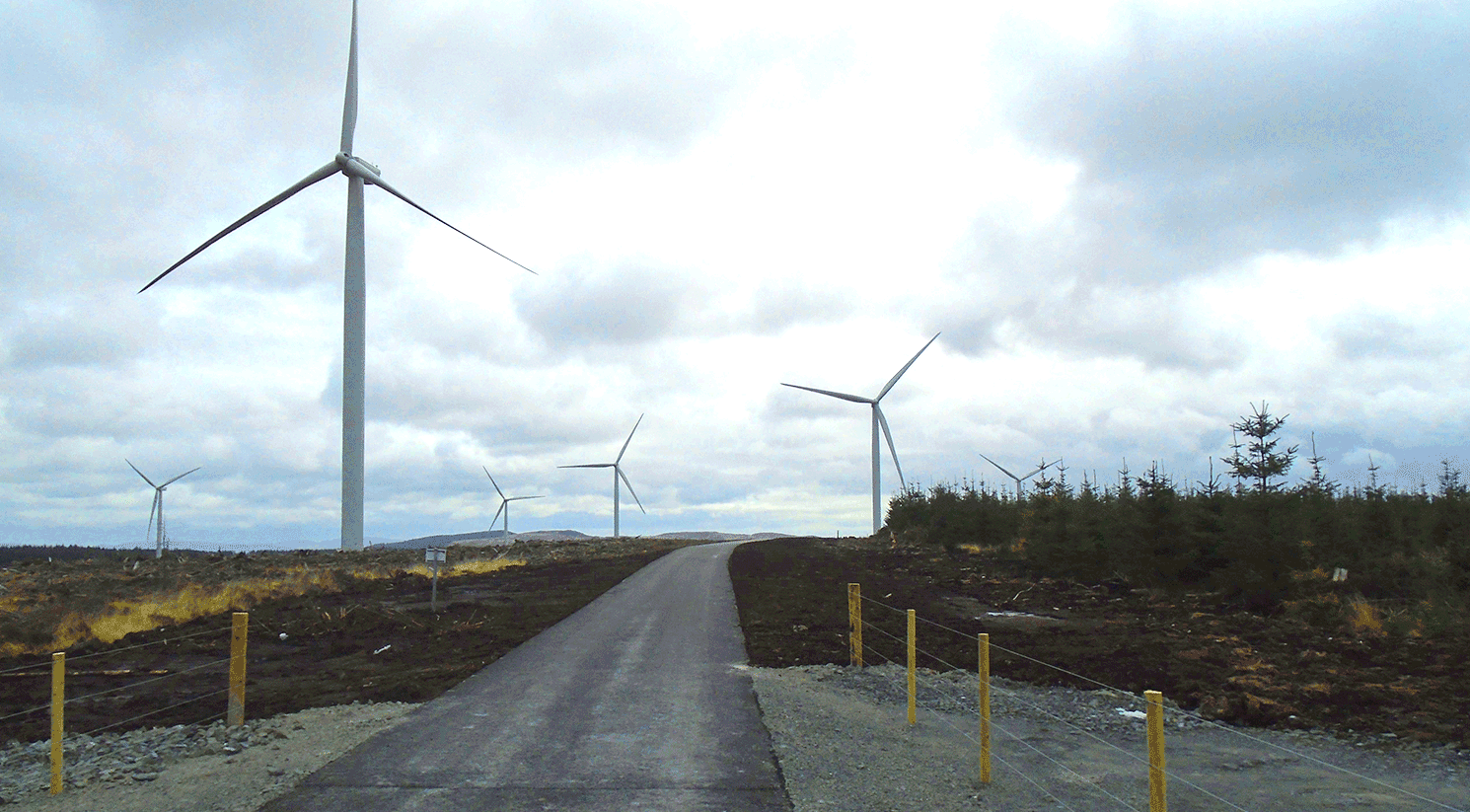 Airies Windfarm, Dumfries & Galloway