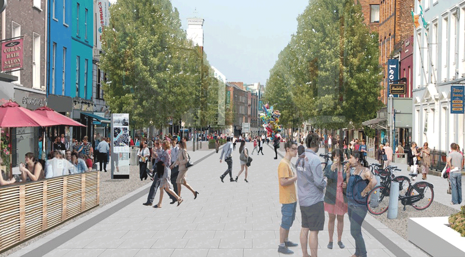 The Limerick Urban Centre Revitalisation – O'Connell